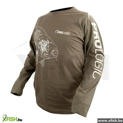 -999 Ft Prologic Carp T-Shirt Long S Sage Green Xl Hosszú Ujjú Felső 60d4b05d3b