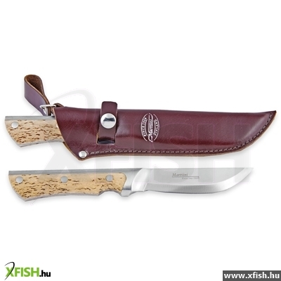 350015 Marttiini Full Tang Curly Birch Knife Vadász Kés