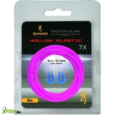 Browning Stretch 7 Hollow Pole Elastic 3 M Rakós Botos Gumi Pink