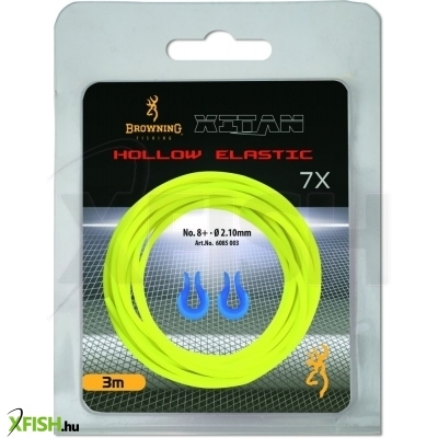 Browning Stretch 7 Hollow Pole Elastic 3 M Rakós Botos Gumi Sárga
