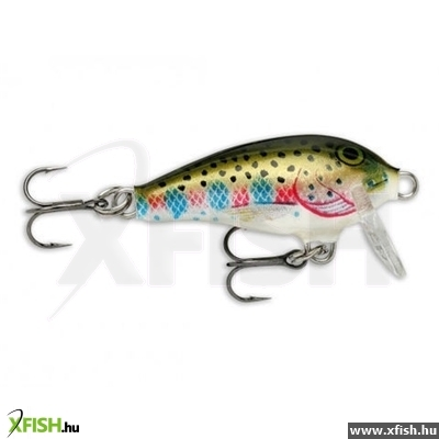 Rapala Mini Fat Rap Wobbler 4Gr/3Cm/0,9-1,8M Mfr03 Rt