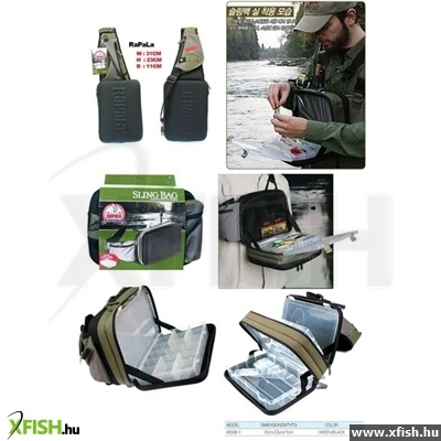 Rapala Limited Series Sling Bag Big Pergető Táska 46006-Lk 63b69ce3ec