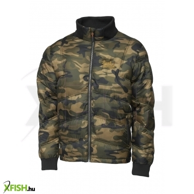 Prologic Bank Bound Bomber Camo Jacket Horgászkabát L