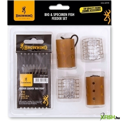Browning Big & Specimen Fish Feeder Készlet (Barbed)