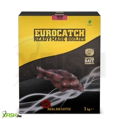 SBS EuroCatch Ready-Made bojli 1 kg 20 mm Strawberry Jam