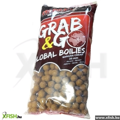 Starbaits Grab & Go Global Bojli 20Mm 10Kg Banana Cream