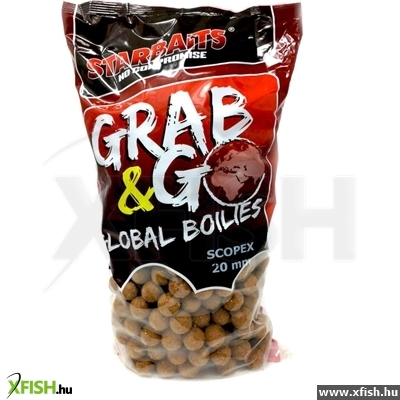 Starbaits Grab & Go Global Bojli 20Mm 10Kg Scopex