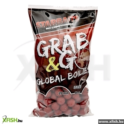 StarBAITS Grab & Go Global Boilies 20Mm 10Kg Spice