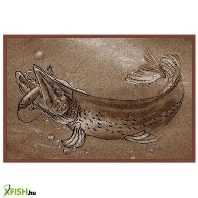 Delphin Horgász Szőnyeg Retro Csuka 41950d3b93