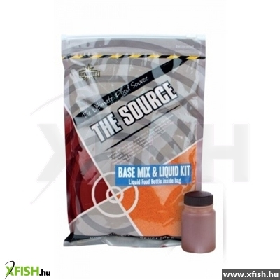 Dynamite Baits Source Base Mix (And Liquid Kit) 1Kg Bojli Mix Dy058