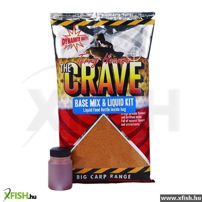 Dynamite Baits Bojli Alapanyag Crave Base Mix & Liquid Kit 1Kg - Dy922