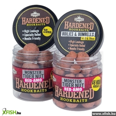 Dynamite Baits Red-Amo Hardened Hook Baits 14Mm Dumbells 15/20Mm Boilies Horogcsali Dy347