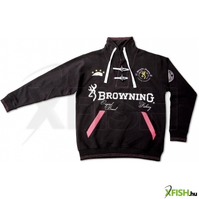 Browning Sweat Shirt 100% Cotton Horgász Pulóver Xl-Es