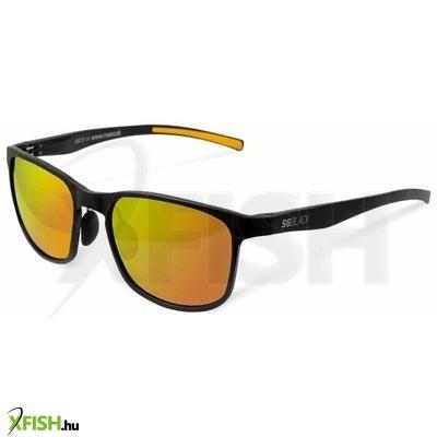 -1 222 Ft Polarizált napszemüveg Delphin SG BLACK narancssárga lencsével 379609760c