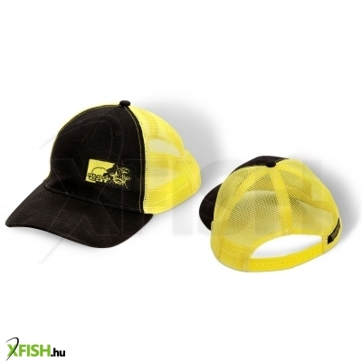 Black Cat Trucker Cap sapka uni fekete sárga d28442d5d3