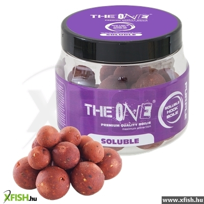 The One Purple Hook Boilies Soluble 14/18/20Mm Mix