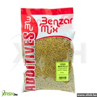 Benzar Mix Pellet 6Mm Ananász