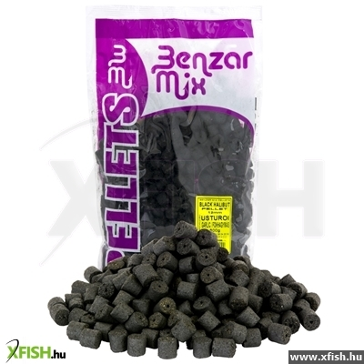 Benzar Mix Black Halibut Pellet 12Mm 800G Fűszer