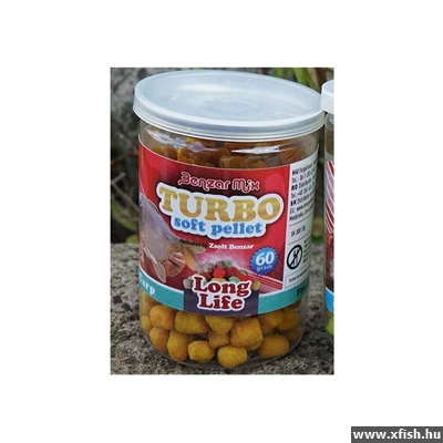 Benzar Mix Turbo Soft Pellet Long Life Fluo Carp
