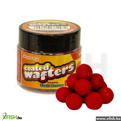 Benzar Coated Wafters Minibojli 8Mm Eper 50Ml Piros