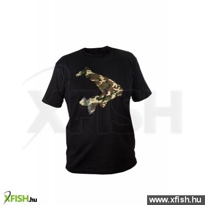Avid Carp T- Shirt Black Horgász Póló Xxl-Es bc75b71237