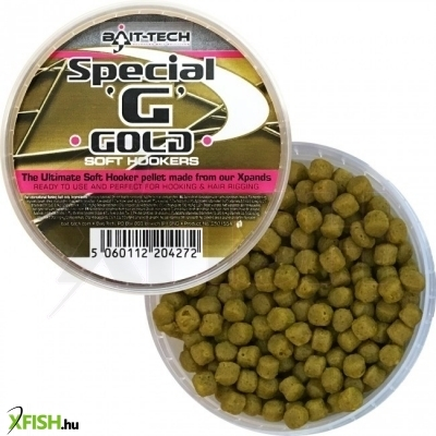 Bait-Tech Special G-Gold Soft Pellet 6Mm