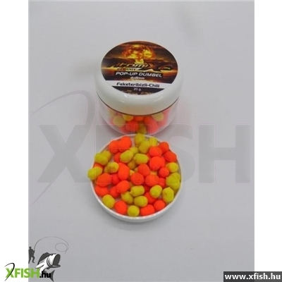 Atomix Pop-Up Dumbel Feketeribizli-Chili 20G 4X8Mm
