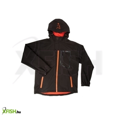 Fox Softshell Kabát Jacket Black/Orange - Small