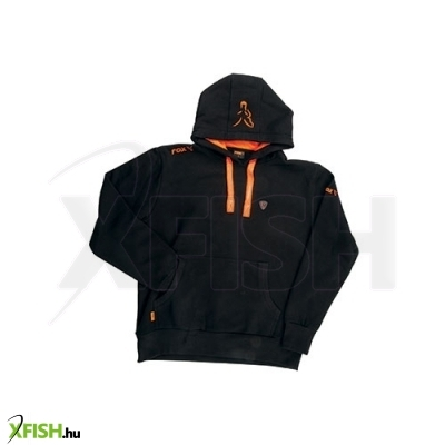 -2 014 Ft FOX Hoody Black Orange - XL pulóver 877f670a22