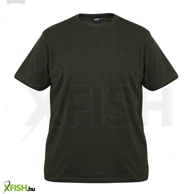 -682 Ft Fox Póló Small - Green   Black T-Shirt 715fb4d648