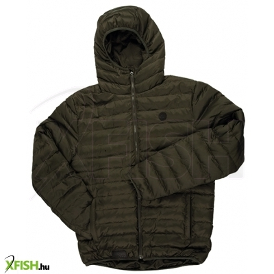 Fox Kabát Chunk Olive Quilted Jacket Xl