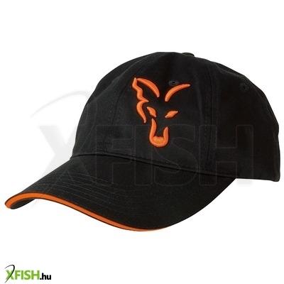 ... Fox Black Orange Baseball Sapka ca82e1a1cf