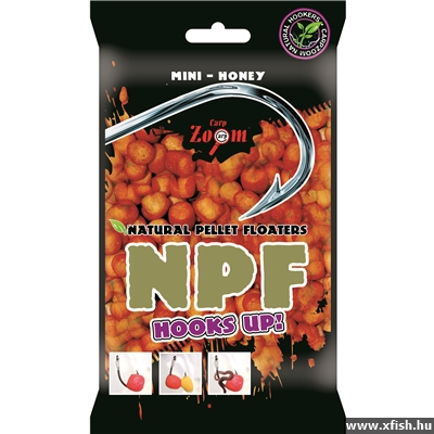 Carp Zoom Natural Pellet Floaters Mini Honey 30G Méz