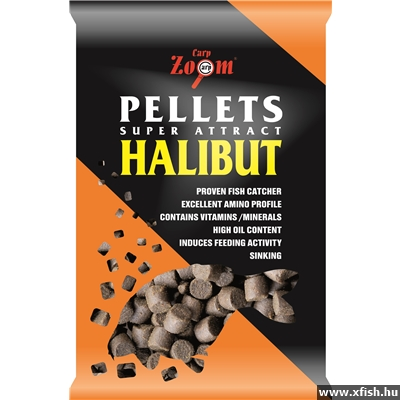 Carp Zoom Feeding Halibut Pellet 6 Mm 800 G