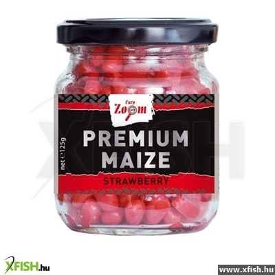 Carp Zoom Premium Üveges Kukorica 220 Ml 125G Strawberry Eper