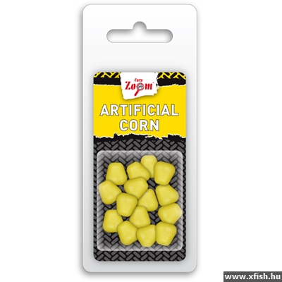 Carp Zoom Artificial Corn 15Db Yellow Kukorica Utánzat Sárga