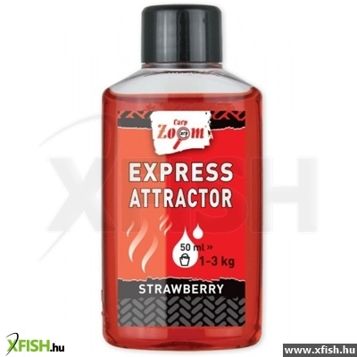 Carp Zoom Express Attractor Strawberry 50 Ml Eper Horgászaroma