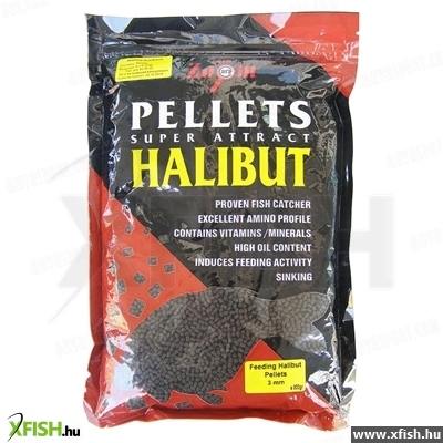 Carp Zoom Feeding Halibut Pellet 3 Mm 800 G