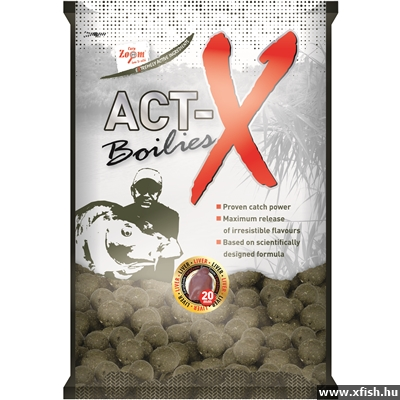 Carp Zoom Act-X Bojli 20Mm 800G Exotic Fruits Egzotikus Gyümölcs