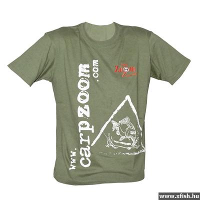 Carp Zoom Póló zöld XXL dda78c63c2