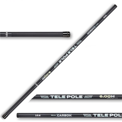 DAM REAL CARBON TELE POLE 4,00M carbon spiccbot