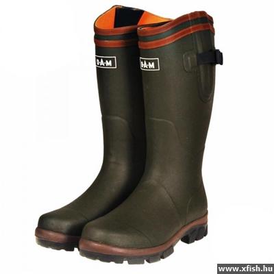 Zebco Dark Star Rubber Boots Neopren Gumicsizma 40   Horgász