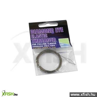 Preston Diamond Eye Elastic Threader Extra 2.1M Behúzó Drót