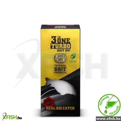 Sbs 3 In One Turbo Bait Dip Green Crab 250 Ml