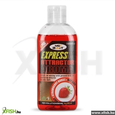 NGT Express Attractor Locsoló 100ml strawberry eper