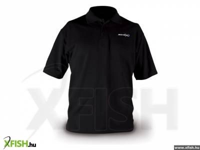 FOX Matrix Polo Shirt Small fekete póló 8981550fe9