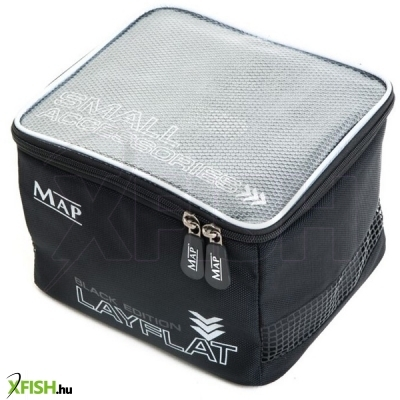 Map Parabolix Layfat Black Edition Small Accessory Bag (H0926) szerelékes táska 25x25x17cm