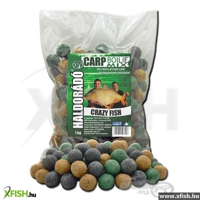 Haldorádó Carp Bojli Mix - Crazy Fish 1 kg / 20 mm