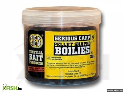 SBS Serious Carp Pellet Shaped bojli Ace Lobworm 250 gm 8, 10 mm