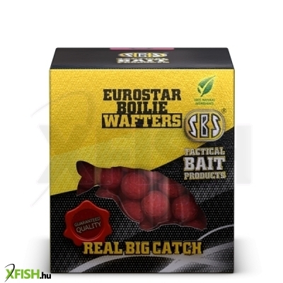 SBS Eurostar Boilie wafters horog bojli Strawberry Jam 100 gm 16, 18, 20 mm